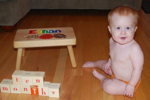 Ten Months Old, November 17, 2011